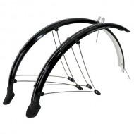 Apărătoare flexibile STAND - set față/spate 26 inch / 60 mm / negru
