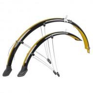 Apărătoare M-Wave Flexibile - set față/spate 28 inch 45 mm - n/p