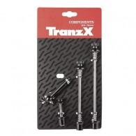 Set ax cu strângere rapidă antifurt TRANZ-X negru