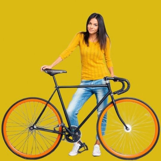 La sezon nou, bicicleta noua !