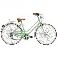 "Bicicleta ADRIATICA 18 Rondine Lady 28"" verde 45 cm"