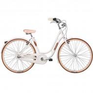 """Bicicleta ADRIATICA 18 Danish Lady 28"""" alb 48 cm"""