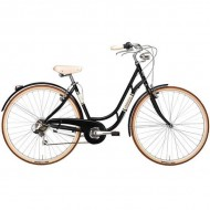 "Bicicleta ADRIATICA 18 Danish Lady 28"" 6V negru 48 cm"