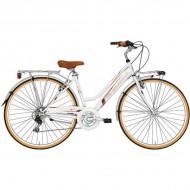 """Bicicleta ADRIATICA 18 Golf Lady 28"""" 6V crem 45 cm"""