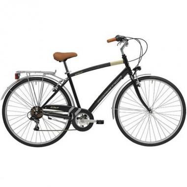 """Bicicleta ADRIATICA Trend Man 28"""" 6V negru 50 cm"""