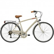 "Bicicleta ADRIATICA 18 Trend Man 28"" 6V nisipiu 50 cm"