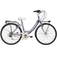 """Bicicleta ADRIATICA 18 Panda Lady 26"""" 6V gri 42 cm"""