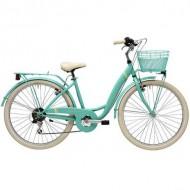 """Bicicleta ADRIATICA 18 Panda Lady 26"""" 6V verde 42 cm"""