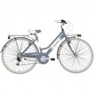 "Bicicleta ADRIATICA 18 Panarea Lady 28"" 6V gri/alb 45 cm"