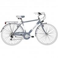 "Bicicleta ADRIATICA 18 Panarea Man 28"" 6V gri/alb 50 cm"