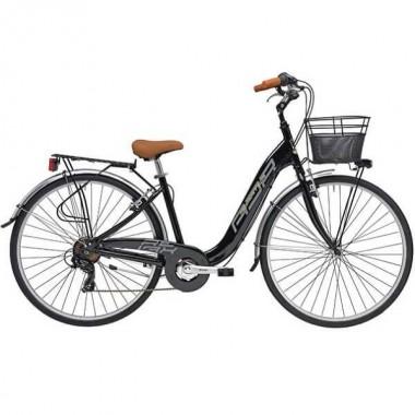 "Bicicleta ADRIATICA Relax Lady 26"" negru 45 cm"