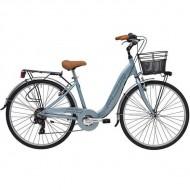 "Bicicleta ADRIATICA 18 Relax Lady 28"" gri 45 cm"