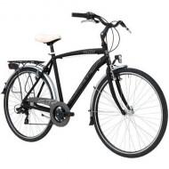 """Bicicleta ADRIATICA 18 Sity3 Man 6V 28"""" negru 55 cm"""