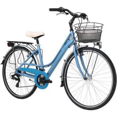 "Bicicleta ADRIATICA Sity3 Lady 18V 28"" albastru 45 cm"