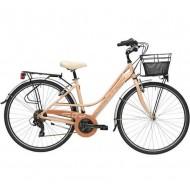 "Bicicleta ADRIATICA 18 Sity3 Lady 18V 28"" rosa 45 cm"