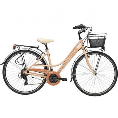 "Bicicleta ADRIATICA Sity3 Lady 18V 28"" rosa 45 cm"