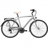 "Bicicleta ADRIATICA 18 Sity3 Man 18V 28"" gri 50 cm"