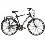"Bicicleta ADRIATICA 18 Sity2 Lady 21V 28"" negru 45 cm"