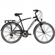 """Bicicleta ADRIATICA Sity2 Man 21V 28"""" negru 55 cm"""