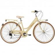 """Bicicleta ADRIATICA Retro Lady 28"""" panna 45 cm"""