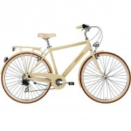 """Bicicleta ADRIATICA 18 Retro Man 28"""" panna 50 cm"""