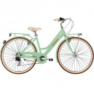 "Bicicleta ADRIATICA 18 Retro Lady 28"" verde 45 cm"