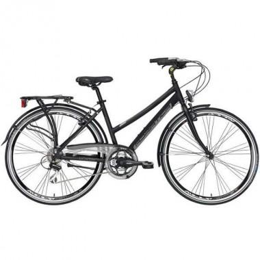"Bicicleta ADRIATICA 18 Boxter Lady 28"" negru 45 cm"