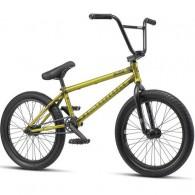"Bicicleta BMX 2019 WETHEPEOPLE 20"" Justice 20.75TT matt trans. yellow"