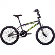 "Bicicleta BMX CAPRIOLO Totem 20"" gri/galben"