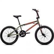 """Bicicleta BMX CAPRIOLO Totem 20"""" verde/portocaliu"""