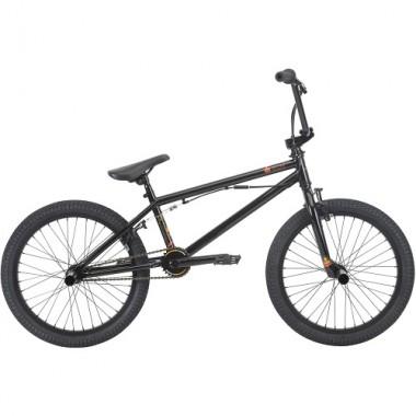 """Bicicleta BMX HARO 20"""" Leucadia DLX 20.3TT negru lucios"""