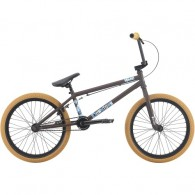 "Bicicleta BMX 2018 HARO 20"" Downtown 20.3TT maro mat"