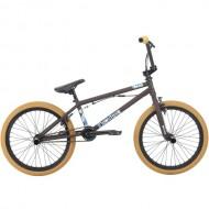 "Bicicleta BMX 2018 HARO 20"" Downtown DLX 20.3TT maro mat"