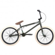 "Bicicleta BMX HARO 20"" Boulevard 20.5TT verde mat"