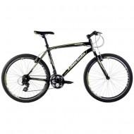Bicicleta Capriolo Monitor Man negru/verde neon 46 cm