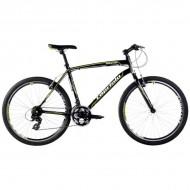Bicicleta Capriolo Monitor Man negru/verde neon 51 cm