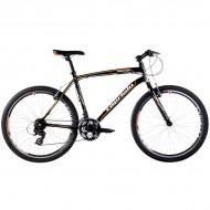 Bicicleta Capriolo Monitor Man negru/portocaliu 46 cm