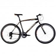Bicicleta Capriolo Monitor Man negru/portocaliu 51 cm
