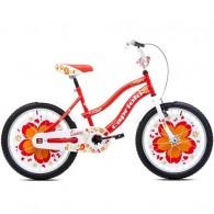 """Bicicleta CAPRIOLO Sunny Girl 20"""" rosu/portocaliu/alb"""