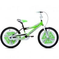 """Bicicleta CAPRIOLO Sunny Boy 20"""" verde/negru/alb"""