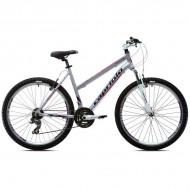 Bicicleta Capriolo Monitor FS Lady 26 gri/mov 43 cm