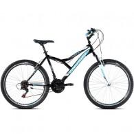 """Bicicleta CAPRIOLO Diavolo 600 FS 26"""" negru/albastru XL 19"""""""