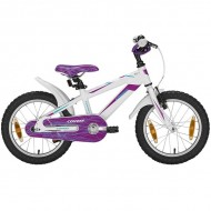 "Bicicleta CONWAY MS16 16"" alb/lila 23 cm"