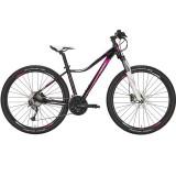 "Bicicleta CONWAY MQ527 27.5"" negru/mov 40 cm"