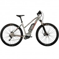 "Bicicleta CORRATEC Electrica E-Power X-Vert Performance Trapez 500 29"" argintiu 39 cm"