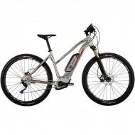 "Bicicleta CORRATEC Electrica E-Power X-Vert Performance Trapez 500 29"" argintiu 39 cm"