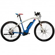 "Bicicleta CORRATEC Electrica E-Bow Performance 29"" alb/albastru 44 cm"