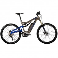 """Bicicleta CORRATEC Electrica E-XTB CX 500 27.5"""" antracit/albastru 42 cm"""