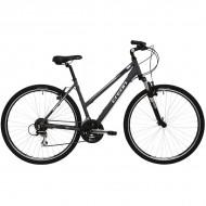 "Bicicleta CREON Tampa Cross 28"" gri 48 cm"