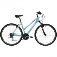 "Bicicleta CREON Tampa Cross 28"" turquoise 48 cm"